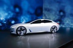 Coche eléctrico de la dinámica de BMW i Vision en el salón del automóvil de IAA Francfort imágenes de archivo libres de regalías