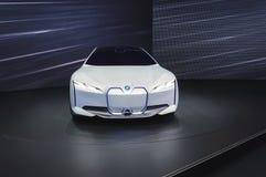 Coche eléctrico de la dinámica de BMW i Vision en el salón del automóvil de IAA Francfort imagen de archivo