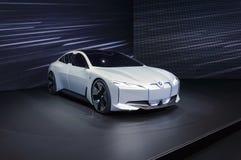 Coche eléctrico de la dinámica de BMW i Vision en el salón del automóvil de IAA Francfort fotografía de archivo