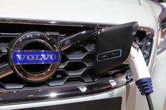 Coche eléctrico de Volvo en el IAA Imagen de archivo libre de regalías