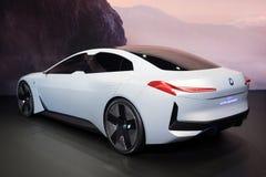 Coche eléctrico del concepot de la dinámica de BMW i Vision fotografía de archivo