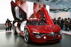 Coche eléctrico del concepto de Renault Foto de archivo