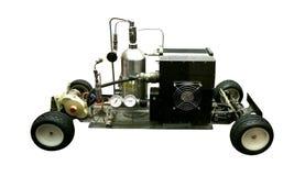 Coche eléctrico hidráulico temprano Fotos de archivo