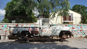 Coche en Haití Fotografía de archivo libre de regalías
