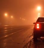 Coche en la noche Imagen de archivo
