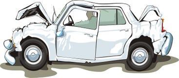 coche estrellado Fotografía de archivo libre de regalías