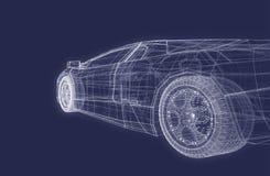 Coche estupendo ilustración del vector
