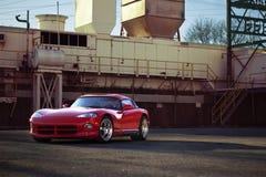 Coche estupendo de la víbora RT10 de Dodge Foto de archivo