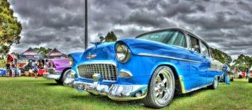 Coche familiar clásico de Chevy del americano de los años 50 fotos de archivo