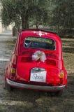 Coche famoso adornado para una boda Foto de archivo libre de regalías