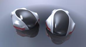 Coche futurista del concepto Foto de archivo libre de regalías