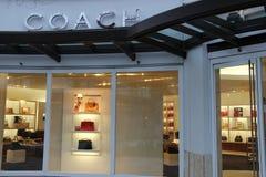Coche Handbag Store Fotografía de archivo
