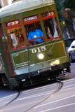 Coche histórico de la calle del St. Charles de New Orleans Imagen de archivo