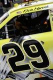 Coche interior de NASCARs Kevin Harvicks 29 de la ojeada foto de archivo