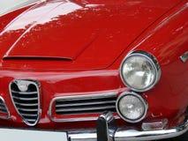 Coche italiano rojo Foto de archivo libre de regalías
