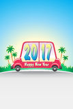 Coche 2017_JAK-1 feliz Imagen de archivo libre de regalías