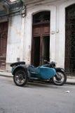 Coche lateral cubano Imagenes de archivo