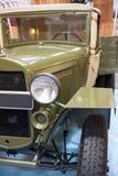Coche militar del vintage Fotografía de archivo