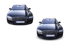 Coche moderno Audi A8 Fotografía de archivo libre de regalías