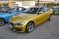 Coche moderno, BMW Fotos de archivo libres de regalías