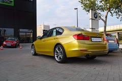 Coche moderno, BMW Imágenes de archivo libres de regalías