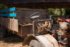 Coche modificado para la agricultura en Tailandia fotos de archivo libres de regalías