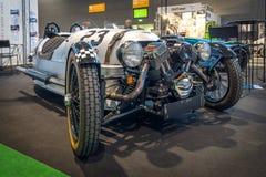 Coche Morgan M3W SUPERDRY, 2013 del triciclo Foto de archivo