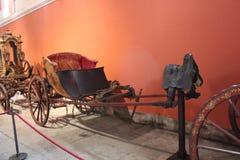 Coche nacional Museum, Lisboa foto de archivo