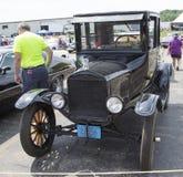 Coche negro de Ford Model T Imagen de archivo libre de regalías