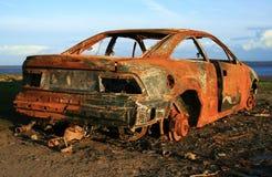 Coche oxidado Fotografía de archivo libre de regalías