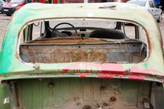 Coche oxidado viejo Fotografía de archivo
