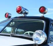 Coche policía. Fotos de archivo