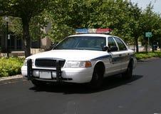 Coche policía Imágenes de archivo libres de regalías