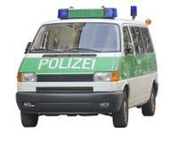 Coche policía. Alemania Foto de archivo libre de regalías