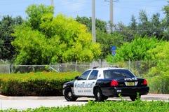 Coche policía, Boca Raton, la Florida Imagenes de archivo