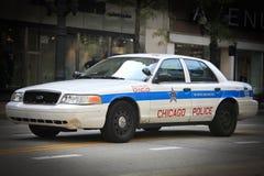 Coche policía de Chicago imagenes de archivo