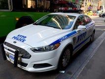 Coche policía de New York City Fotografía de archivo