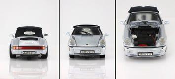Coche Porsche 911 del juguete Imágenes de archivo libres de regalías