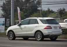 Coche privado de SUV de la ciudad CDI del ml 250 del Benz Imágenes de archivo libres de regalías