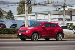 Coche privado, Nissan Juke imagen de archivo libre de regalías