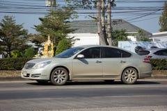 Coche privado, Nissan Teana Imagenes de archivo