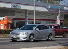 Coche privado, Nissan Teana Fotos de archivo libres de regalías