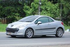 Coche privado, Peugeot 207 Fotografía de archivo libre de regalías