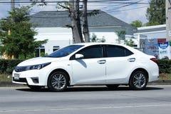 Coche privado, Toyota Corolla Altis Foto de archivo libre de regalías