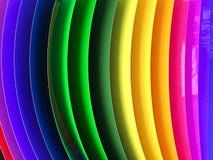 Coche que envuelve muestra de la paleta de colores de la película fotografía de archivo