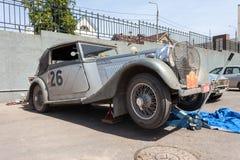 Coche retro Bentley Drophead 1936 años Imagen de archivo