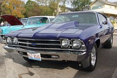 Coche retro Chevrolet Foto de archivo