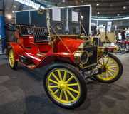 Coche retro Ford Model T Tourabout, 1914 Imagen de archivo libre de regalías