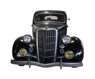 Coche retro negro Imagen de archivo libre de regalías