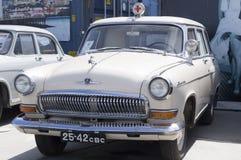 Coche retro soviético GAZ Volga Imagen de archivo libre de regalías